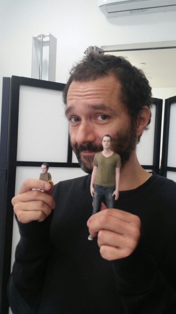 statuette personalizzate in 3D di Boosta dei Subsonica