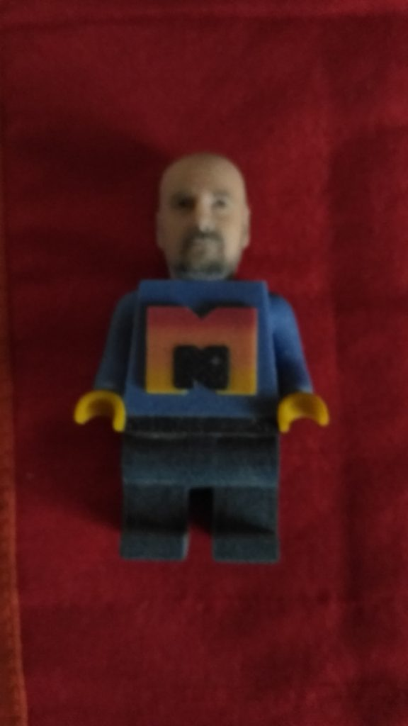 statuette-3d-personalizzate-Torino Luca Mariano versione Lego