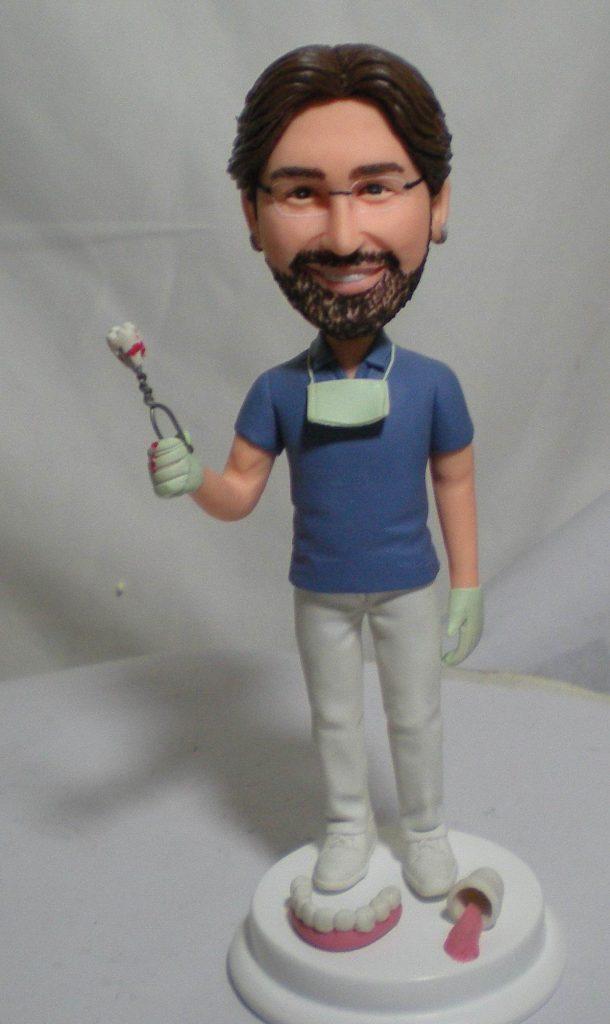 statuine personalizzate da foto di dentista