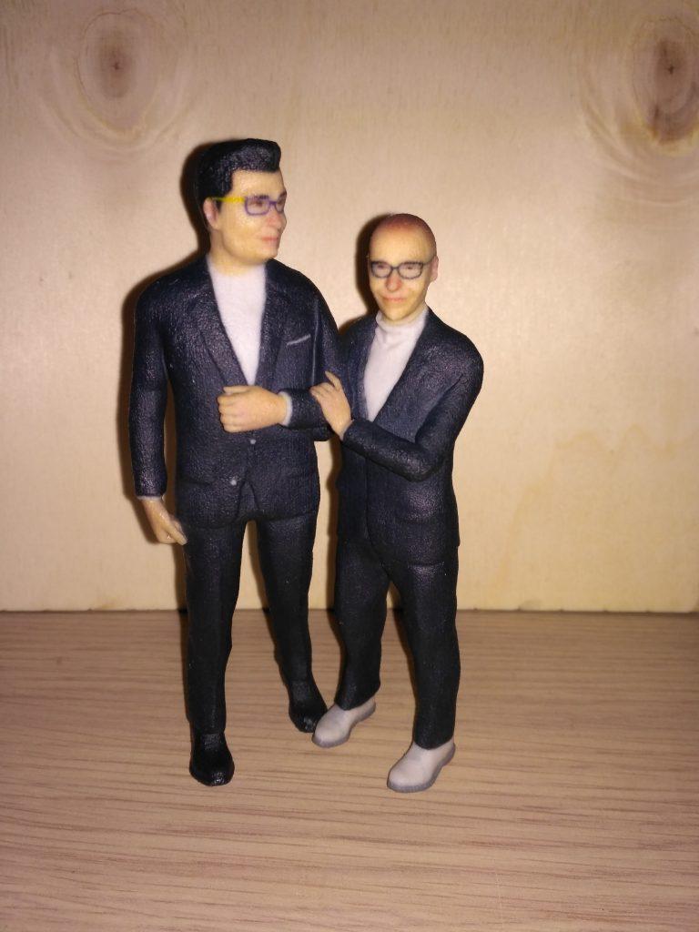 statuette-3d-personalizzate-Torino sposi gay