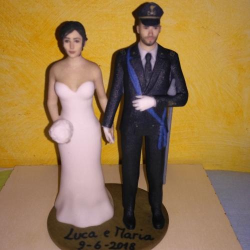 cake topper-3d-matrimonio