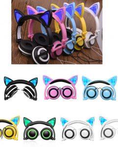 cuffie-orecchie-gatto-luminose-per-cellulare