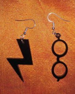 orecchini-Harry Potter-idea-regalo-plexi-taglio laser