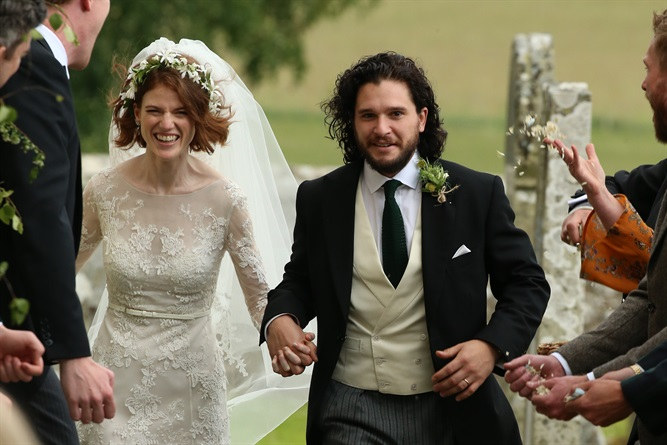 matrimonio di Kit Harington