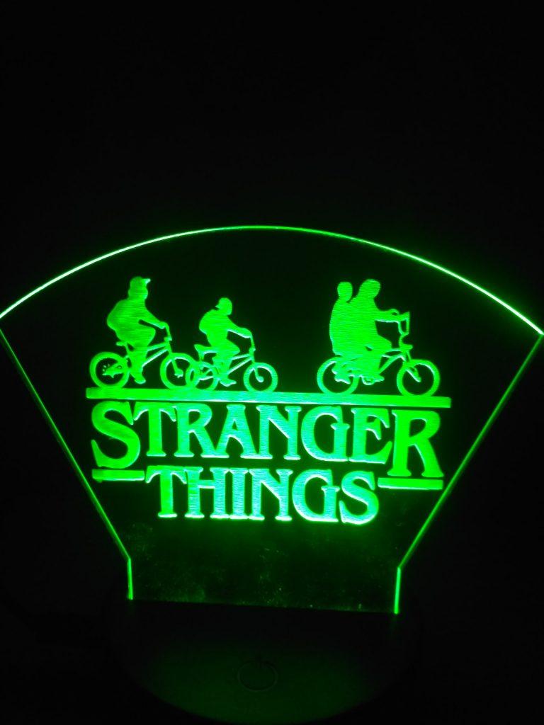 lampade a led stranger things verde