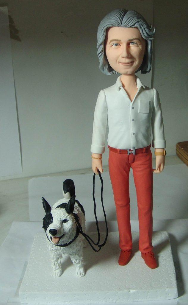 statuine personalizzate con cane