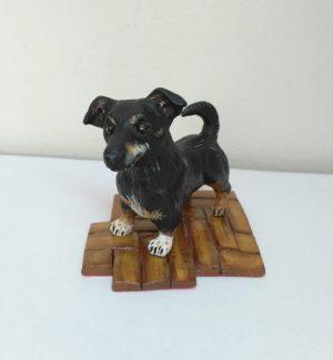 statuina animali di cagnolini