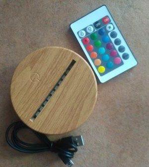 lampada cuffie DJ