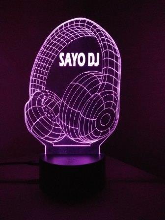 idea regalo DJ con logo viola