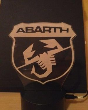 lampada Abarth