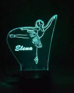 lampada verde idea regalo per danza classica